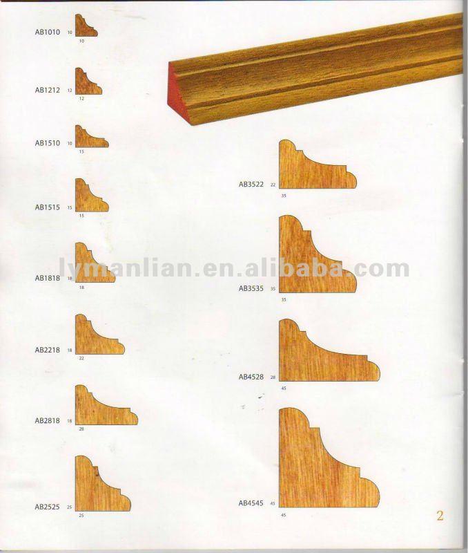 Corner design engineered teak wood mouldings for for A t design decoration co ltd