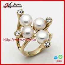 R3801 fashion pearl ring designs for arabic market