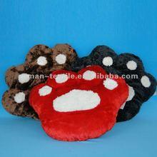 Animal Paw Shaped Plush Cushion Pillow Pet Wholesale