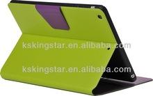 pu leather rotation case for ipad mini