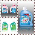 líquido de lavado detergente de lavandería para la mano y la máquina