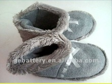 2012 Hot Sale USB warmer Shoes/ electrically heated shoes