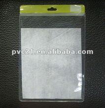 EVA Soft Plastic Tablet PC Case Bag Ziplock With Euro Hook