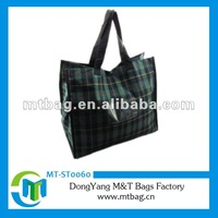 2012 Hot Sell Fashionable Coated Non woven Lady Hand Bag