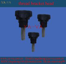YA-VAV M4 plastic black knob bolt for machinery