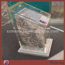 Transparent Stable Acrylic Reception Desk