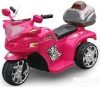 Battery operated toy motorcycle