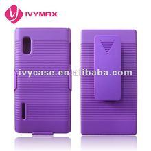 purple holster case for LG e610 optimus l5