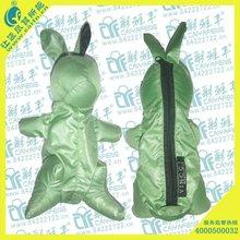 Eco friendly Rabbit Nylon folding Gift shopping bag