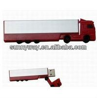 OEM rubber truck usb flash drive