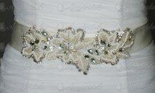 Custom Souvenir Beaded Belts Wedding Dress Belts