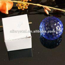 Wholesale 40mm Crystal glass golf ball