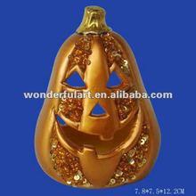 ceramic craft pumpkins decorative candle holder