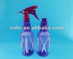 PET hair care trigger bottle, plastic spray bottle