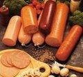 alta qualidade artificial invólucro de salsicha de carne fresca embalagem