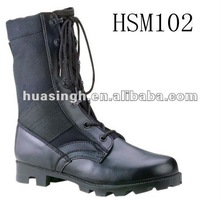 Execute Secret Mission Used Top Quality 8' Black Fashion Military Boots For 2012