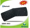 Black mini wireless folding keyboard with bluetooth for ipad, android tablet pc and galaxy note2
