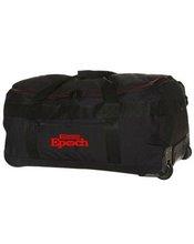 Black travel trolley luggage bag, trolley luggage, luggage trolley