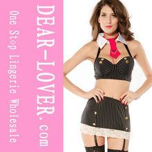 Sexy Striped Bad Girl Costume (LC8671)