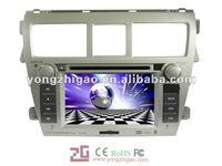 6.5'' HD digital in-dash Car dvd player for Toyota Vios with GPS,IPOD, TV, ,radio,bluetooth
