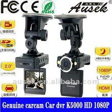 K5000 car charger/bracket 1080P H.264 dash cam