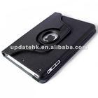 360 degree Rotating Stand PU case For iPad mini