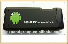 Android 4.0 HDMI TV Dongle with WIFI HDMI USB Interface