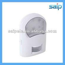 2012 Newest mini white PIR night lamp with CE