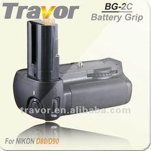 For Nikon D80 D90 Battery Grip