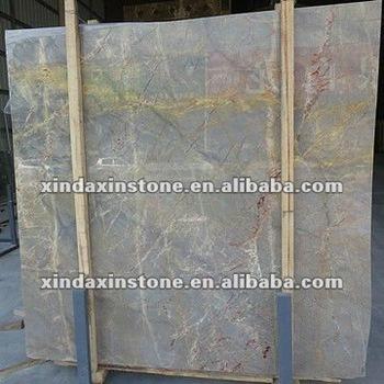 gold silk grey marble