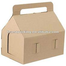 BROWN FOOD STORAGE BOX WITH HANDLE(FP600595)