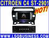 LSQ Star Hot Selling Integrative Car DVD player For CITROEN C4