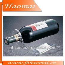 2012 Best Selling Unique Transparent Acrylic Wine Rack HM-S48