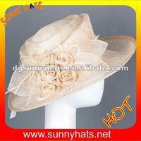 Sinamay wedding and church hats