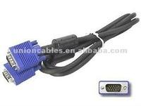 6 FT 15 PIN SVGA / VGA Monitor M/M Male 2 Male Blue Cable