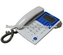 Caller ID Phone, Landline & Desk Phone. Telecom product manufacturer..