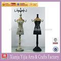 novo manequim de madeira artesanal de fadas jóias titular da boneca mostrar figuras