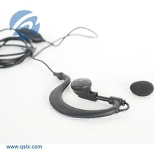 Earpiece Microphone for Portable Radios, with Earbuds Appearance Type
