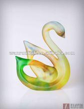 pop wedding gift- lead crystal swan figurine