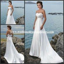 WD111054 Inexpensive Off the Shoulder Beaded Floor Length Elegant Wedding Dresses 2012