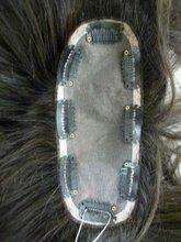 Hot sale handmade remy hair top closure hair piece