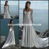 WDS529 A-line Sweetheat Sheath Lace Up Formal Eveningn Beach Silver Wedding Dress 2012