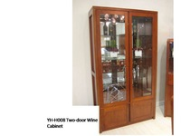 Cherry 2 door Wine Cabinet Solidwood Indian Style Furniture