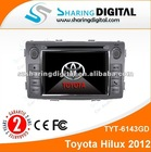 Sharing Digital numerous in variety DVD AUTO with GPS navigation for Toyota Hilux