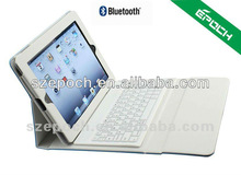 2012 New black for ipad case with bluetooth keyboard with lower price