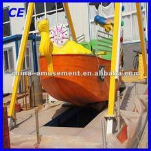 Attractive amusement park rides kids small pirate ship for sale