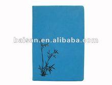PU cover notebooks clear cover notebook