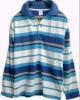 blue and white striped kids long sleeve polo shirts