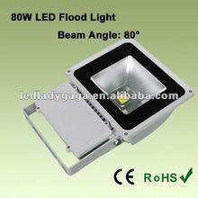 2012 Hottest Super Bright AC85~265V High Power 80W LED Flood Light stainless steel led flood light
