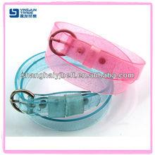 shinny candy color kids children PVC belt YJ-FC001